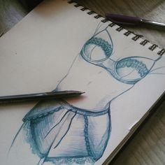 Lingerie sketch