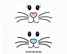 Check out our bunny svg selection for the very best in unique or custom, handmade pieces from our digital shops. Bunny Crafts, Easter Crafts, Crafts For Kids, Easter Projects, Silhouette Design, Silhouette Cameo, Silhouette Studio, Bunny Girls, Cute Easter Bunny