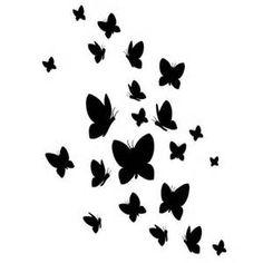 Dessin De Papillon Pour Tatouage Fabulous Tatouage Orchide Papillon