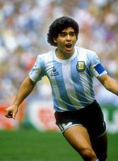 29 de junio de 1986. Estadio Azteca, México. Grito de gol. Argentina se consagra Campeón del Mundo. Diego Armando Maradona, el Capitán. #Genio del #Futbol. #D10S #Leyenda #Mundial1986