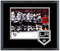 L.A. Kings Celebrate After Winning 2014 Western Conference Finals vs Blackhawks