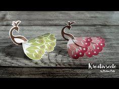 3D Pfau für Schokoladen Praline | Kreativseele - YouTube