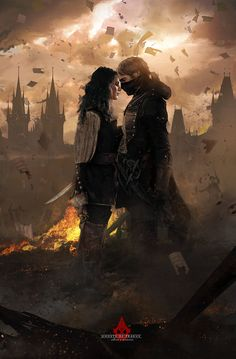 Arno and Elise. A R T They are the perfect couple in my opinion, but even they could not last forever...                                                                                                                                                     More