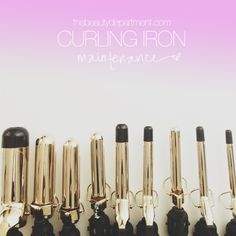 "Tag Archive for ""how to clean your curling iron"" - The Beauty Department: Your Daily Dose of Pretty. Beauty Nails, Beauty Makeup, Hair Makeup, Hair Beauty, Laura Mercier, Curling Iron Size, Urban Decay, Essie, Bobbi Brown"