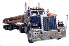 Meccano Kenworth Logging Truck
