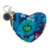 Sweetheart Coin Purse (shown in Midnight Blues; available in 6 colors) - This little coin purse is a real sweetheart! A great addition to any of our handbags, this darling coin holder features a zip-around opening, a handy clip and an adorable logo charm in a complementary color.
