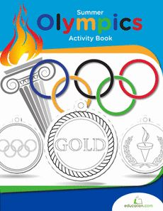 Summer Olympics Activity Book- teach your child about the olympics!