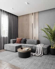 Home Living Room, Interior Design Living Room, Living Room Designs, Living Room Decor, Modern Interior Design, Appartement Design, Home Room Design, House Rooms, Sofa Design