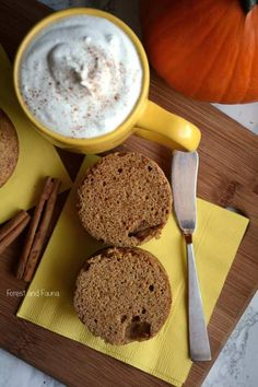 Low Carb Pumpkin Muf