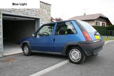 Renault 5 GT Turbo Phase 1 Blue Light