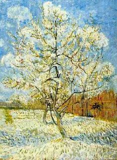 Vincent van Gogh: The Oil Paintings: peach Tree in Blossom. Arles: April-May, 1888