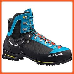 f3b483ce Salewa Women's Raven 2 GTX Mountaineering Boots Ocean / Ringlo 8 & E-Tip  Glove Bundle - Outdoor shoes for women (*Amazon Partner-Link)