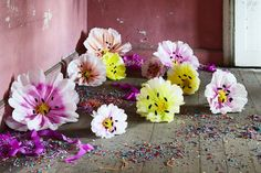 Beautiful Blooms That Will Never Wilt: DIY Giant Paper Flowers