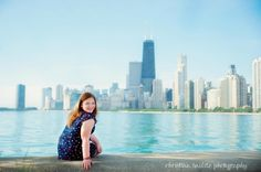 Chicago Skyline Photography Location for family photography session.