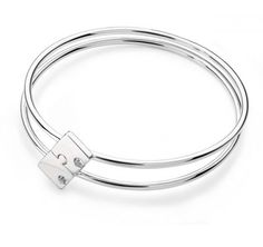Twins Together Bangles - Two for One Two beautiful Silver bangles that join together to make one. Twins that stick together are friends forever! Stylish designer bangle for twins, this beautiful eye-catching jigsaw design bangle can be worn together as one beautiful solid silver piece or separated and worn by each twin.  http://www.twinsgiftcompany.co.uk/twins-together-bangles-two-for-one-p-411.html