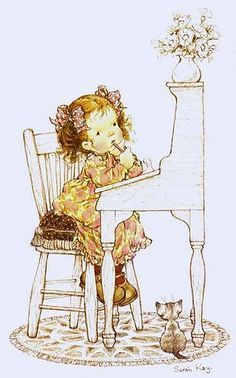 Reminds me of my daughter, Sue.  Hmmmm.....what shall I draw now.