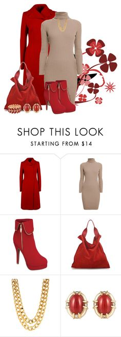 OATMEAL TURTLENECK DRESS by arjanadesign on Polyvore featuring Rumour London, Dolce&Gabbana, Jil Sander and Gump's