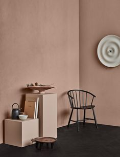 3 Jotun Colors of the Year Calm, Refined and Raw - Eclectic Trends Dusty Pink Bedroom, Pink Bedroom Walls, Pink Bedroom Decor, Master Bedroom Interior, Bedroom Wall Colors, Pink Bedrooms, Bedroom Color Schemes, Pink Walls, Blush Walls