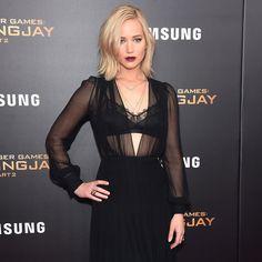 Jennifer Lawrence's Dress at Mockingjay 2 NYC Premiere | POPSUGAR Fashion