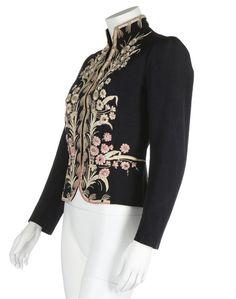 Elsa Schiaparelli couture daisy-embroidered jacket, Autumn-Winter 1937-38