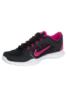 reputable site 10bc1 eb462 ... new style nike performance flex trainer 4 sports shoes black fuchsia  26763 b0f09