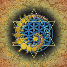 Star of David with Fobonnaci sequence <3
