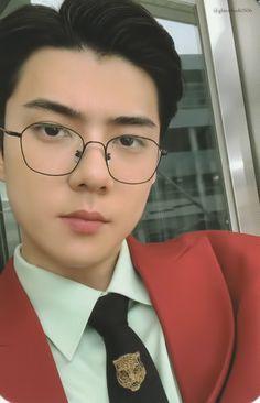 Sehun - 190725 'What A Life' album photocard Baekhyun, Park Chanyeol, Hunhan, K Pop, Dramas, Exo 2014, Exo Album, Exo Lockscreen, Exo Members