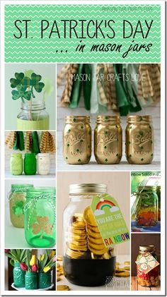 st-patrick-day-crafts-mason-jars