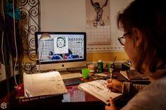 ZAC: la creazione di un fumetto!