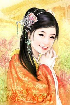 Chinese Art is beautiful  GRAN SONRISA,EN UN BELLO ROSTRO