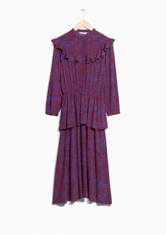 4d8ca69e53e2 Other Stories | Zebraic Frilled Dress Vinterklänningar, Formella Klänningar,  Senaste Modetrenderna, Boho