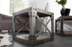 Stolik Kawowy Industrial I Invicta Interior i22204