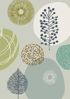 Nature No6 limited edition giclee print by EloiseRenouf on Etsy