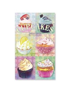 Cupcakes planner by Graphique $5.99 http://www.graphiquedefrance.com/p-46606.htm