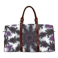 Psycho Snow travel bag by Martina webster Waterproof Travel Bag/Small (Model 1639)