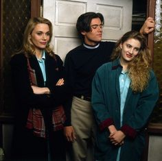 Peggy Lipton, Dana Ashbrook, and Madchen Amick - 1989 Twin Peaks 1990, David Lynch Twin Peaks, Shelly Twin Peaks, Dana Ashbrook, Twin Peaks Fashion, Oki Doki, Love Twins, Image Film, Laura Palmer