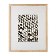 wood frame for 8 X mount vertical or horizontal. mix and match with white or black frames. Vertical Or Horizontal, Black Enamel, Ivory, Wood, Gifts, House, Chapters Indigo, Benjamin Franklin, Home Decor