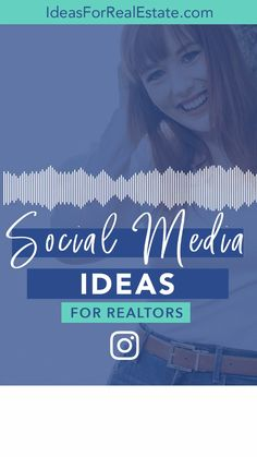 Social Media Ideas for REALTORS & Real Estate Agents - Struggling with what to post on social media for your real estate marketing? Looking for ideas for - Marketing Poster, Marketing Plan, Real Estate Marketing, Digital Marketing, Keller Williams, Real Estate Video, Real Estate Branding, Social Media Marketing Business, Estate Agents