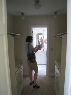 Bathroom And Walk In Closet Designs Entrancing Walk Through Closet Design Ideas Pictures Remodel And Decor Review