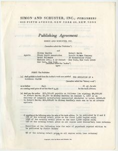 Knopf agreement for mildred pierce famous author publishing knopf agreement for mildred pierce famous author publishing contracts pinterest mildred pierce platinumwayz