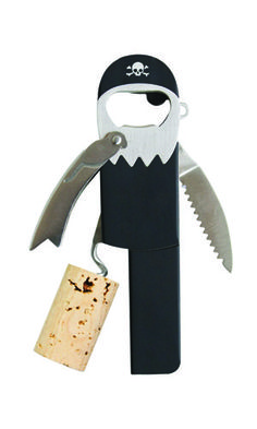 This bottle opener is not only perfect for your six-year old's pirate-themed birthday party, but will also take you to the grapey-treasure you crave. X marks the spot, and so does wine.