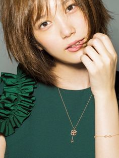 Japanese Beauty, Asian Beauty, Cute Girls, Cool Girl, Pretty Girls, Tsubasa Honda, Japanese Models, Pretty Woman, Arrow Necklace