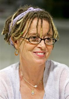 Anne Lamott is pictured book signing, in Omaha, Neb., Wednesday, Sept. 19, 2007. Lamott is the author of several novels and works of non-fiction. (A...