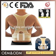 china manufactory 2017 adjustable upper back posture corrector brace relieve your back pain daily life