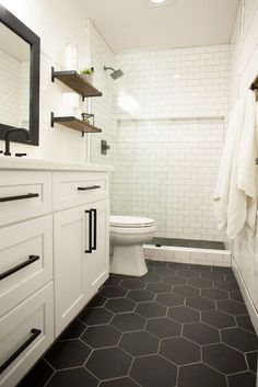 bathroom remodel on a budget & bathroom remodel & bathroom remodel on a budget & bathroom remodel small & bathroom remodel master & bathroom remodel diy & bathroom remodel ideas & bathroom remodel before and after & bathroom remodel with tub Bad Inspiration, Bathroom Inspiration, Interior Inspiration, Casa Rock, Upstairs Bathrooms, Basement Bathroom Ideas, Small Master Bathroom Ideas, Bathroom Renos, Master Bath Tile
