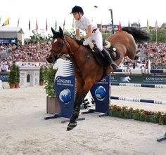 Edwina Tops-Alexander (AUS) Global Champions Tour Showjumping Horse Equestrian Jumping Longines Equine Riding