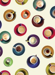 Koffiekopjes Cadeaupapier
