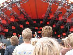 Roskilde. Best festival in Denmark.
