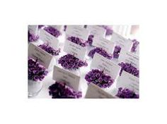 decoracion bodas color morado violeta purpura - Buscar con Google