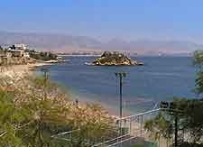 View of Votsalakia Beach which can be found between Mikrolimano & Pasalimani (Zea Marina)